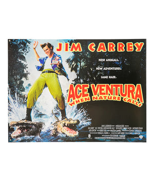 Ace Ventura: When Nature Calls - 1995 - Original Poster