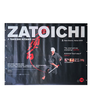 Zatoichi - 2003 - Original UK Quad
