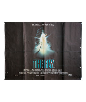 The Fly - 1986 - Original UK Quad