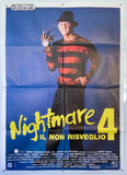 Nightmare on Elm Street 4: The Dream Master - 1988 - Original Italian 2 Fogli