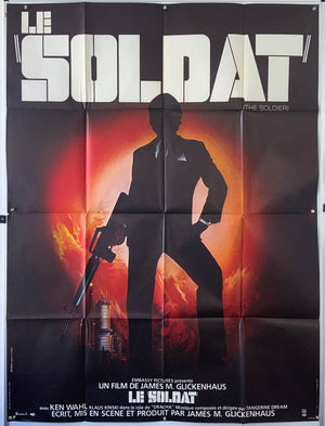 The Soldier - 1982 - Original Poster