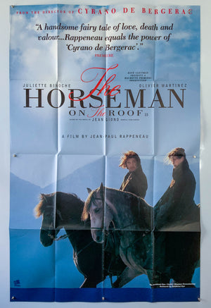 The Horseman on the Roof - 1995 - Original Poster