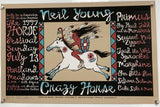 Neil Young - Crazy Horse - Horde Festival - 1997 - Screenprint