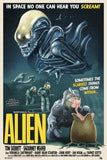 Alien - Variant - Licensed Screenprint - Artist Proof - Tom Walker