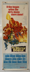 Dirty Dozen - 1967 - Original US Insert Poster (36 X 14 Inches)