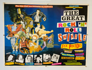 The Sex Pistols – The Great Rock 'N' Roll Swindle - 1980 - Original UK Quad