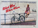 Wish You Were Here - 1987 - Original UK Quad Poster