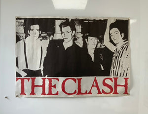 The Clash - Unused CBS Records Lithograph Display Poster - 1981 - Original - 35in x 23in