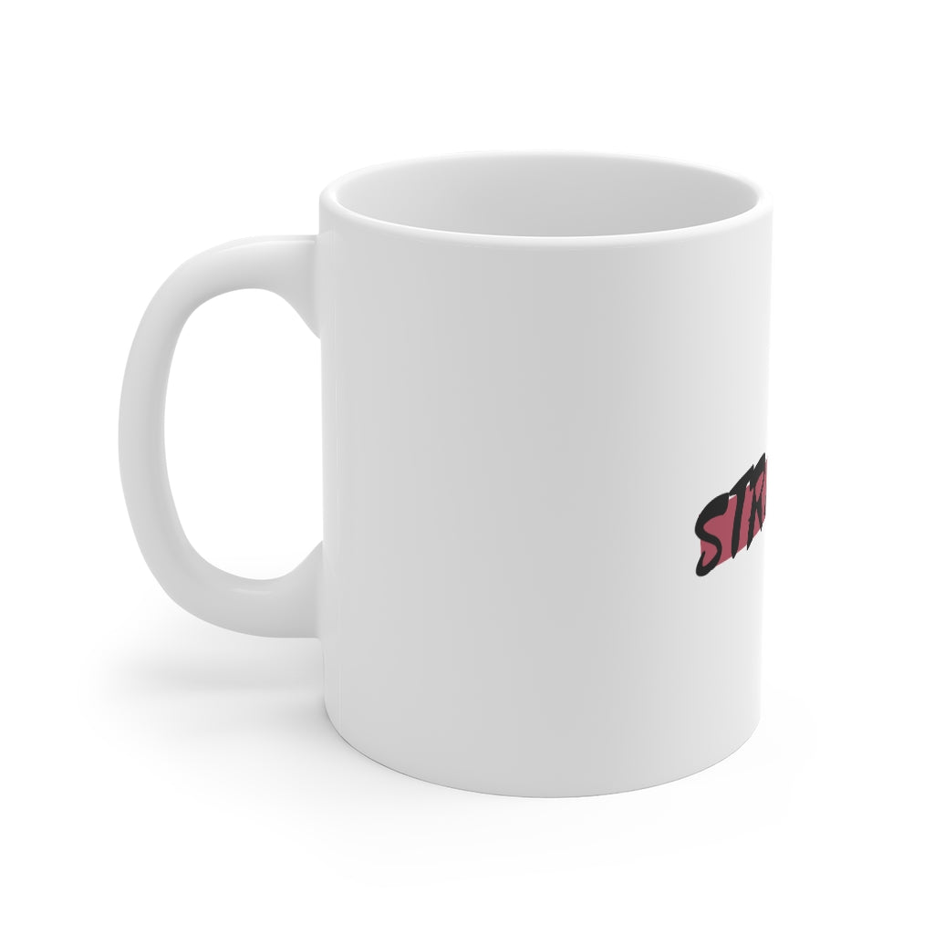 Strapped Logo Mug 11oz