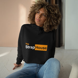 The Strap House Crop Hoodie
