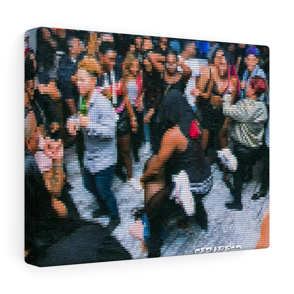 Strapped Vibe Canvas