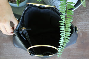 PENNY'S PRETTY PURSE - BLACK