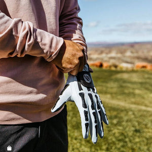 Asher Deathgrip 2.0 Mens Glove - White
