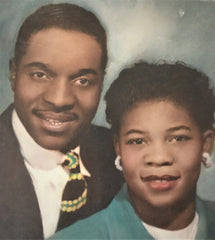 My parents- Mommy and Daddy