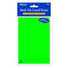 Bazic Neon Lined stick on notes 102mm x 152mm4