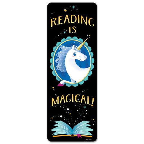 CTP5553: Reading is Magical Bookmark