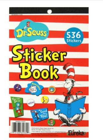 Dr Seuss Cat in The Hat Sticker Book (536 Stickers)