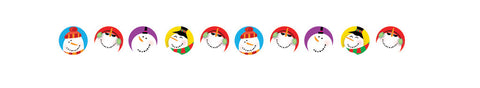 CTP7171: Snowmen Hot Spots Stickers