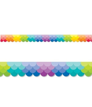 CTP0186: Ombre - Rainbow. Total 10.7m x 55mm