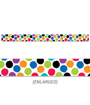 CTP8342: Colourful Spots Border