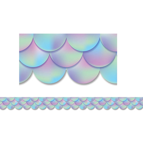 CTP8558 Iridescent Scallops Border