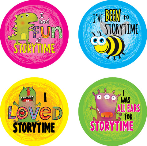 DL20 Storytime Stickers 35mm