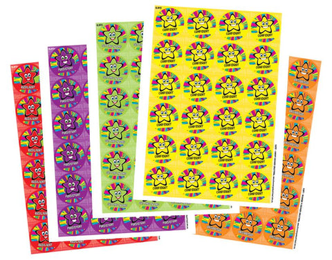 DLW18 Rainbow Stars - Mixed pack