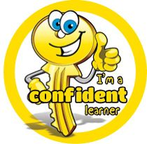 DLW9 Confident Learner - Yellow Key