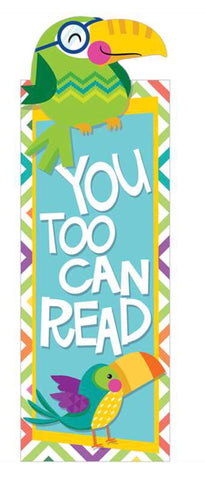 EU-834223 You-Can Toucan Bookmarks (36 pack)