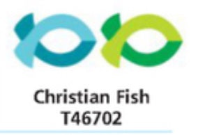 T-46702    Christian Fish Shapes (12mm)