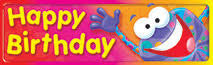 Trend T-12061 Happy Birthday Bookmarks