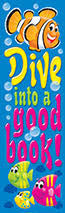 Trend T-12120 Dive into a good book Bookmarks
