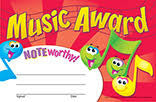 Trend T-81027 Music Award Certificates