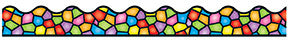 T-92136 Stained Glass Border