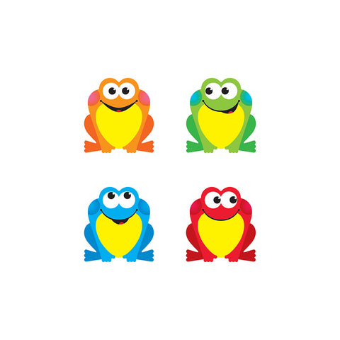 T-10893 Colourful Frogs Accents