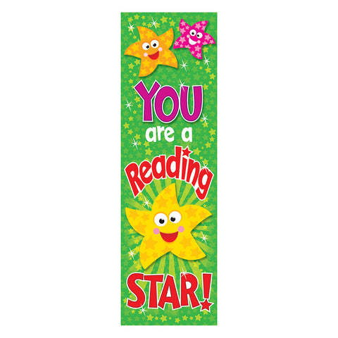 Trend T-12035 You are a Reading Star Bookmarks