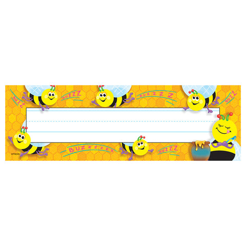T-69014 Trend Busy Bees Nameplates