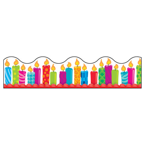 Trend T-92855 Birthday Candles Border