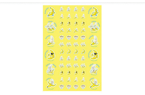 SS1015: ATA Banana ScentSations Stickers
