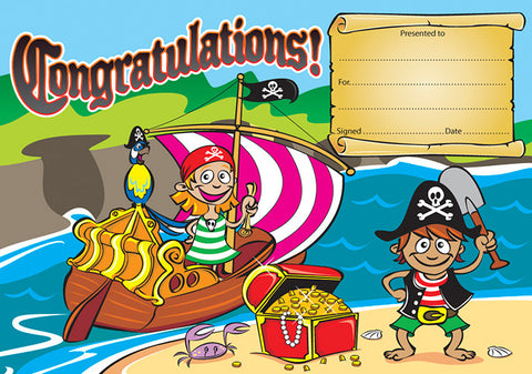 ATA CE319: Pirate Congratulations