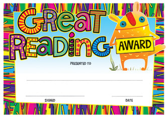 DCX22 Great Reading Award
