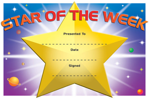 DC2: Star of Week