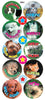DE83 Reward Stickers: Cats & Dogs