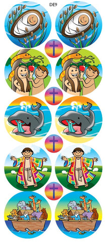 DE9  Reward Stickers: Bible Stories