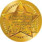 DL003 Assistant  Principal's Award Sticker 36mm