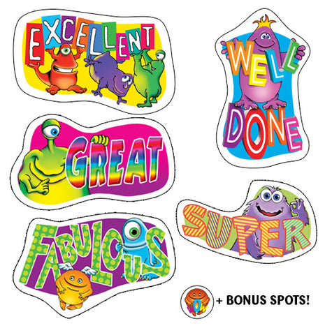 DS005 Shaped Stickers: Monster Mayhem