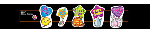 DS007 Shaped Stickers: Balloon Animals