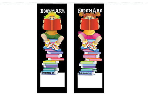 DB2: Boy/Girl Readers Bookmark