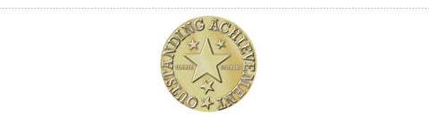 School Merit 581: Embossed Outstanding Achievement