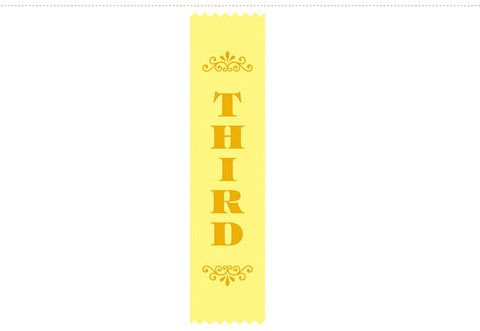 SR10 Sports Ribbons (Satin)